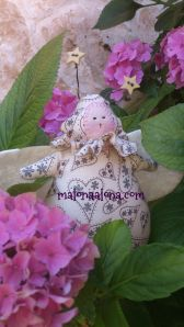 moth in hortensia