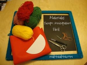 materiales calcetines
