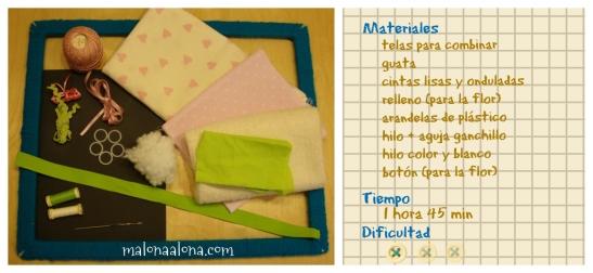 organizador -materiales