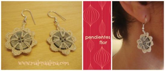 pendientes_flor