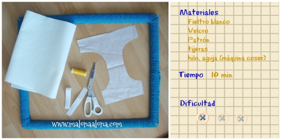 materiales pañal